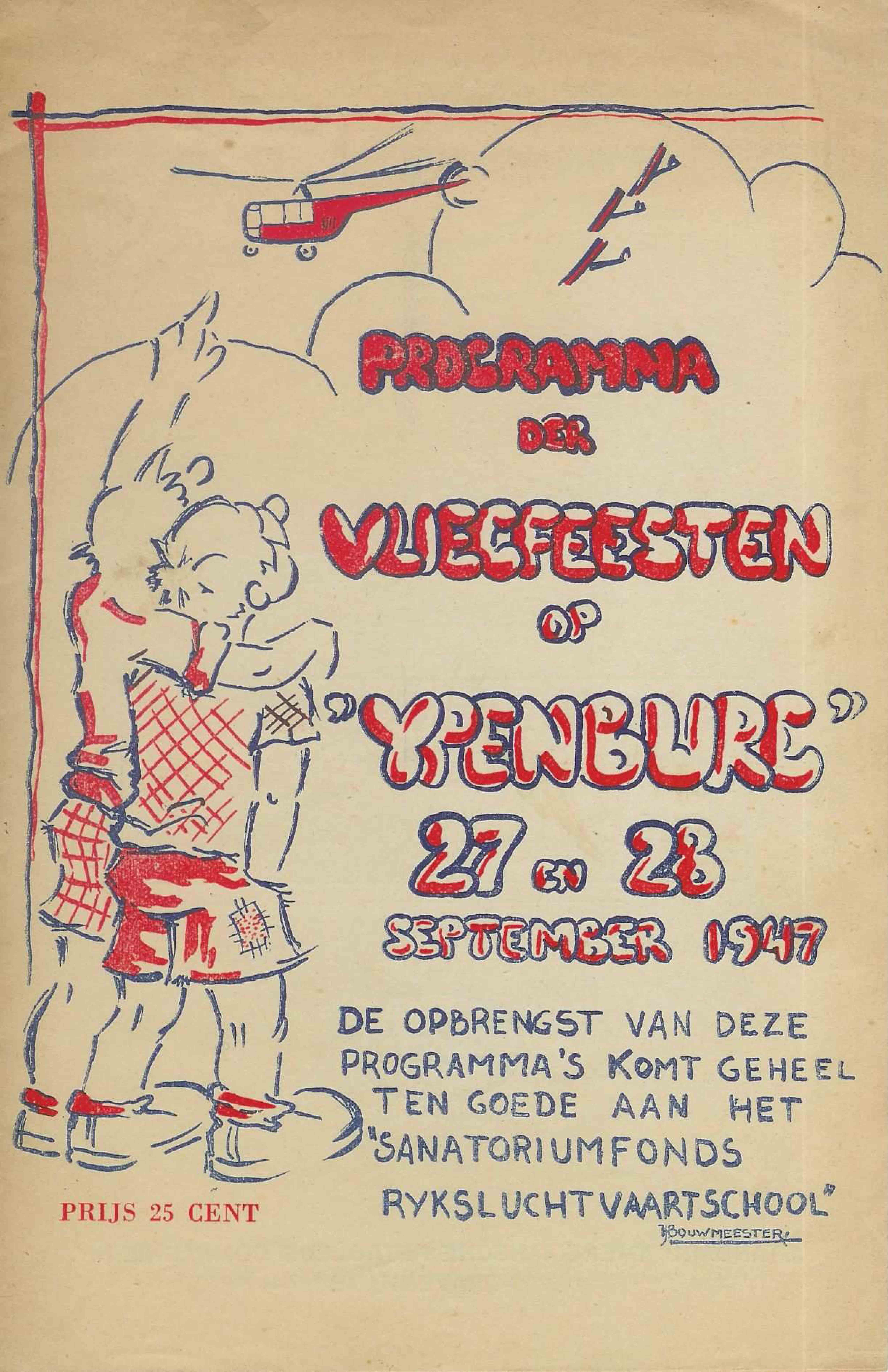 vliegfeest 27 en 28 sept 1947