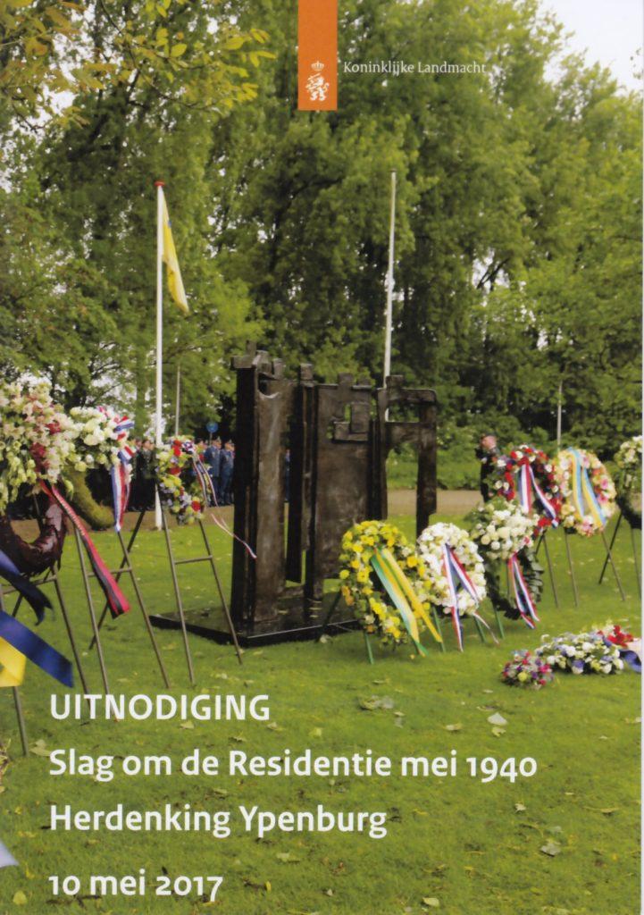 uitnodiging Herdenking 10 mei 2017 a5
