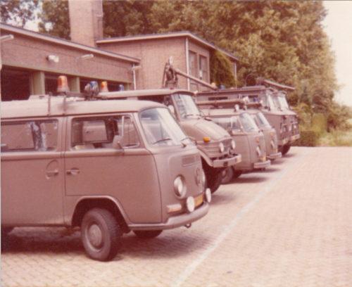 Wagenpark voor garage