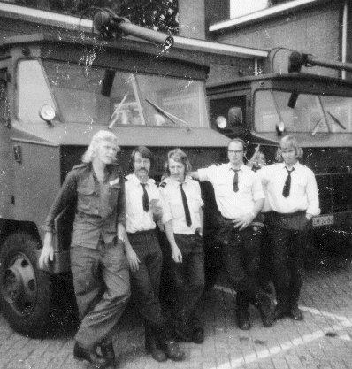 Brandweer ploeg